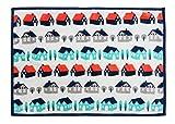 丸眞 ハーフケット 北欧風パターン 100×140cm ハウスパターン 0295084800