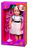 Our Generation A True Gem Anya 18-Inch Doll with Pierced Ears and Accessories by Our Generation