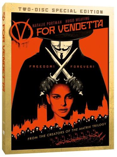 Vフォー・ヴェンデッタ 特別版 [DVD]の詳細を見る