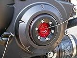 ティーエスアール(TSR) タイミングホールキャップスライダー キャップ部分:レッドアルマイト/スライダー部分:ジュラコン(黒色) 11330-HW0-0RE
