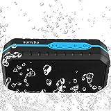 Sunvito Bluetoothスピーカー 防水型 通話ハンズフリー 完璧な音質IPX6防水、防塵, 防投げ (ブルー)