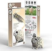 EUGY 018 Sheep Eco-Friendly 3D Paper Puzzle