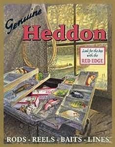 ブリキ看板 HEDDON タックルボックス