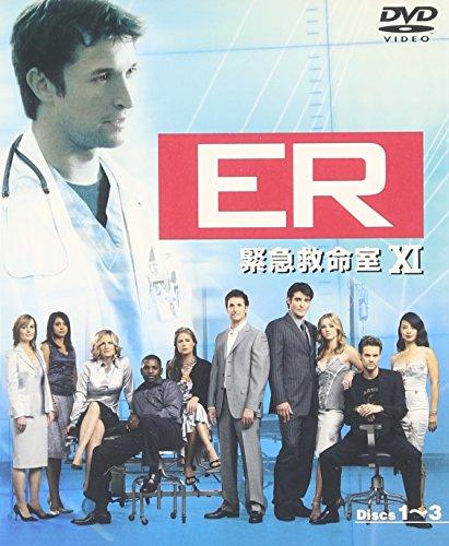 ER 緊急救命室 11thシーズン 前半セット (1~12話・3枚組) [DVD]の詳細を見る
