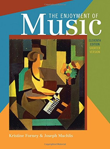 Download The Enjoyment of Music: An Introduction to Perceptive Listening, Shorter Version 0393934152