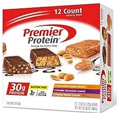 Premier Protein プレミア プロテイン プロテインバー バラエティパック(72g x 12本入り)海外直送