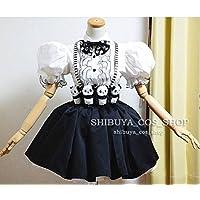 コスプレ衣装きゃりーぱみゅぱみゅファッションモンスター モノトーンパンダ+ 髪飾り