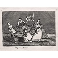 Goya Y Lucientes Francisco De Feminine Folly Art Print Canvas Premium Wall Decor Poster Mural 壁デコポスター