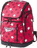 Speedo(スピード) プールバッグ バックパック スイマーズリュック SD97B51 PN (ピンク) レギュラー (SD97B51)