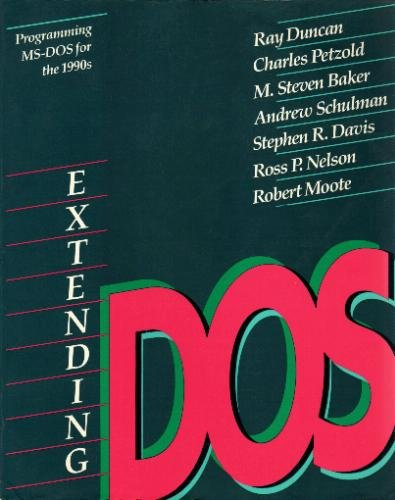 Download Extending DOS 0201550539