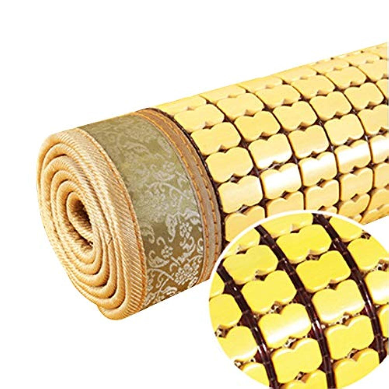 GUORRUI 竹マット 夏の季節 シングルダブルベッド 乳母車 カート 麻雀 乳母車 ダイニングチェア 赤ちゃん用ベッド 麻雀 環境を守ること 通気性がある、 3つのスタイル (Color : A, Size : 70x125cm)
