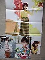 西野七瀬 雑誌付録 特典 クリアファイル ポスター ポストカード 乃木坂46