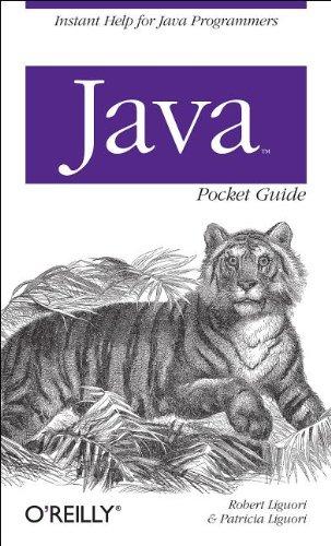 Java Pocket Guide (Pocket Guides)