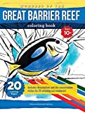 Wonders Of The Great Barrier Reef: Coloring book for kids(10+), teens and adults with beautifully drawn scenes of the reef and its treasures (English Edition)