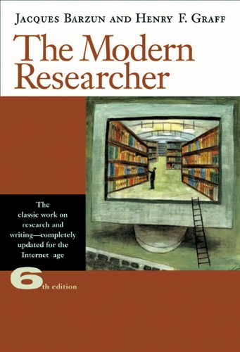 Download The Modern Researcher With Infotrac 0495318701