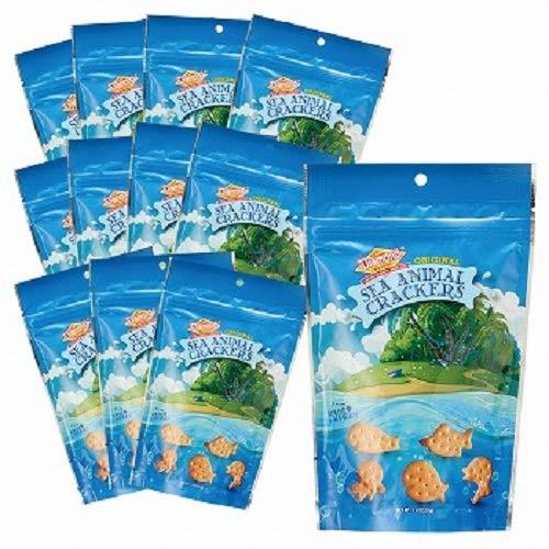 ダイアモンドベーカリー(Diamond BAKERY) シーアニマル クラッカー 12袋セット【ハワイ海外土産 輸入食品 スイーツ】