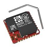 超簡単! 無線マイコン高出力タイプ TWELITE RED DIP-トワイライトレッド SMDモジュール 【カギ型アンテナ付属】