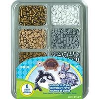 Perler Beads Neutrals n Stripes Mini Bead Tray [並行輸入品]