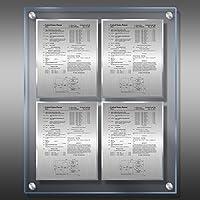 特許Plaque–Translucite ® Ice ip1-ez22