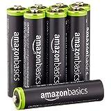 Amazonベーシック 充電池 充電式ニッケル水素電池 単4形8個パック (最小容量750mAh、約1000回使用可能)