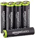 Amazonベーシック 充電池 充電式ニッケル水素電池 単4形8個パック (最小容量750mAh 約1000回使用可能)