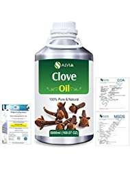 Clove (Eugenia Caryophyllate) 100% Natural Pure Essential Oil 5000ml/169fl.oz.