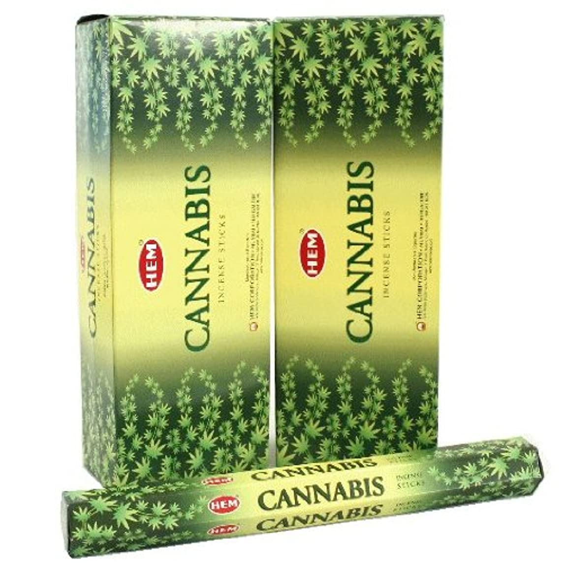 写真の印象的平衡HEM カナビス香 スティック ヘキサパック(六角) 12箱セット HEM CANNABIS