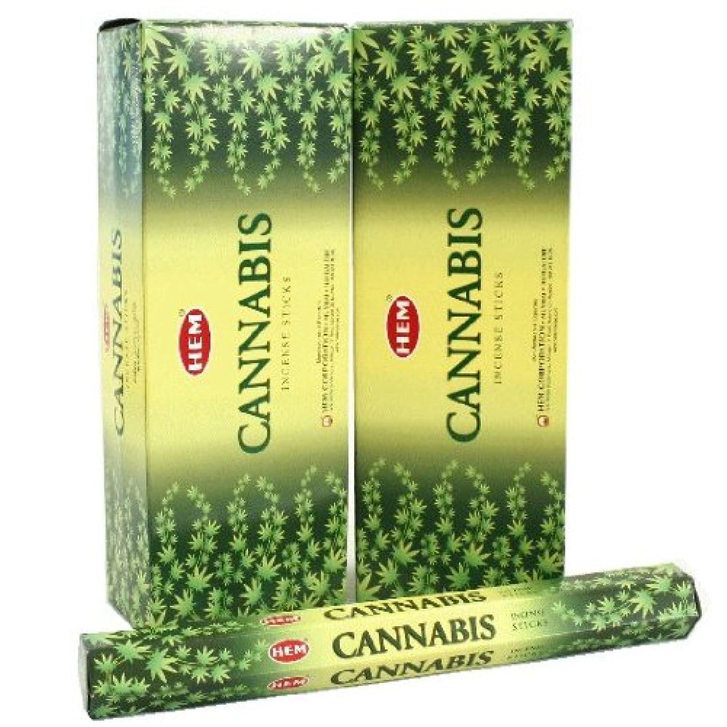 リア王湿気の多いジャムHEM カナビス香 スティック ヘキサパック(六角) 12箱セット HEM CANNABIS