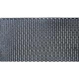 ABS樹脂 ハニカムメッシュネット黒 1200mm×400mm/グリルネット/エアロ加工