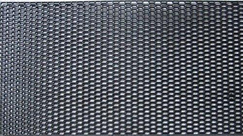 ABS樹脂 ハニカムメッシュネット黒 1200mm×400m...