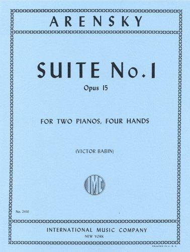 アレンスキー: 組曲 第1番 Op.15/インターナショナル...