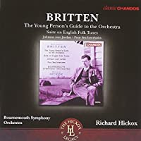 Britten: Young Person Guide To Orchestra [Richard Hickox] [Chandos: CHAN 10784 X] by Bournemouth Symphony Orchestra (2013-07-04)