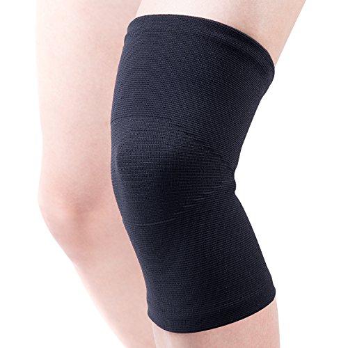 FREETOO 膝サポーター 薄型 運動用 ひざサポーター 膝固定 関節靭帯保護 薄手 通気性 伸縮性 怪我防止 登山 ランニング バスケ アウトドアスポーツ L