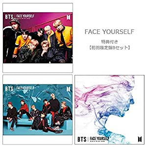 【Amazon.co.jp限定】FACE YOURSELF(初回盤Bセット:B+C+通常)(DVD付)【特典:A4クリアファイル絵柄C】