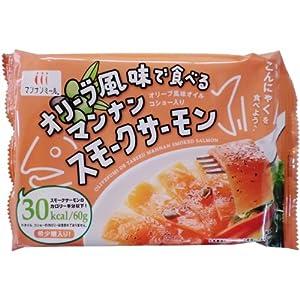 ハイスキー食品 オリーブ風味で食べるマンナンスモークサーモン 67.2g×12個