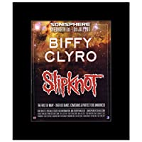 SONISPHERE FESTIVAL - 2011 - Biffy Clyro Slipknot Mini Poster - 30x24.2cm