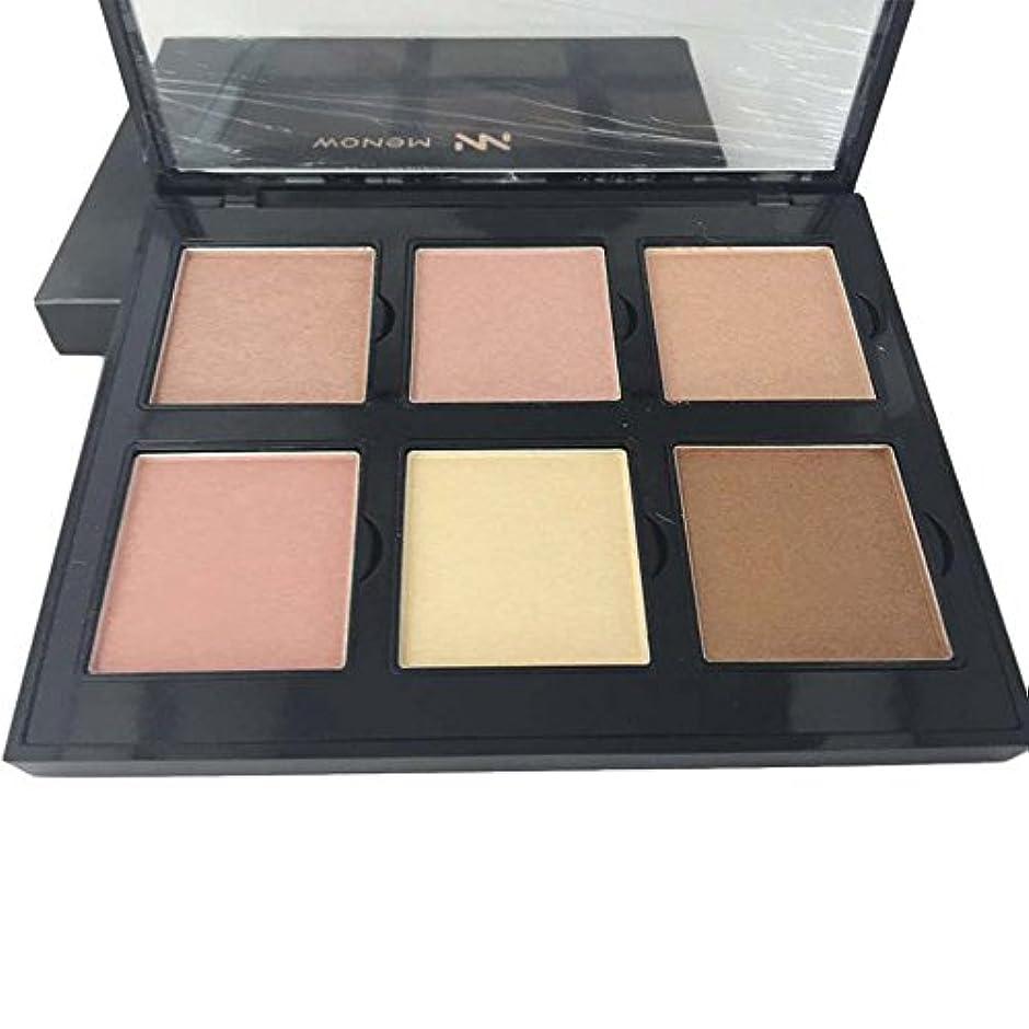 医薬品だますキャリッジAkane アイシャドウパレット MENOW ファッション 桃花系 魅力的 綺麗 人気 長持ち チャーム おしゃれ 持ち便利 Eye Shadow (6色) ES01