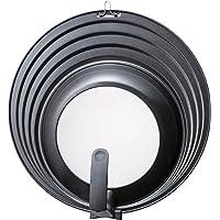 貝印(Kai Corporation) フライパン ふた 18 ・ 20 ・ 22 ・ 24cm 斜面タイプ スタンド付 Kai House Select DW5619