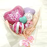 baby boy &girl バルーン 出産お祝いに☺︎ (pastel girl)