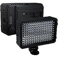 LOE 定常光ライト LED 168球 カメラ/ビデオ撮影 単三電池・バッテリー 対応 (168A)