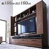 壁面収納 テレビボード 170cm SEMITU-1964040500020 /ハイタイプテレビ台