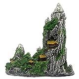 水槽 アクアリウム の オーナメント オブジェ (山水)
