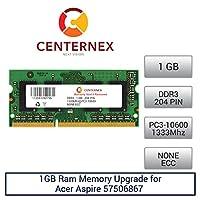 1GB RAMメモリfor Acer Aspire 57506867(ddr310600) ノートPCメモリアップグレードby US Seller