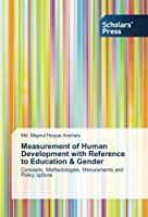 Measurement of Human Development with Reference to Education & Gender