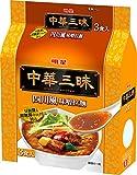 明星 中華三昧 四川風味噌拉麺 3P