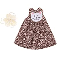 Lovoski  人形 かわいい 花柄 袖なし ドレス  ヘアピン付属 12インチブライスドール適用 装飾 全3色  - 03