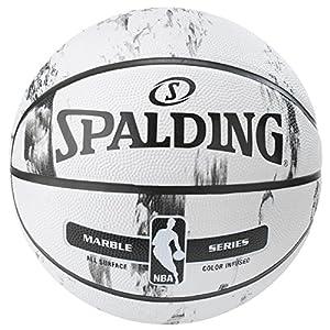 SPALDING(スポルディング) バスケットマーブルコレクション ホワイト 7号球 屋外用 NBA公認 83-635Z 83-635Z