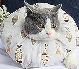 ハローヴィー(HALOViE)エリザベスカラー 猫 小型犬 ソフト 軽量 ドーナツ 柔らかい 傷口保護 傷舐め防止 引っ掻き防止 皮膚病 去勢手術 避妊 介護 L