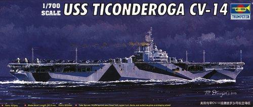 Uss Ticonderoga Cv-14 (1:700)