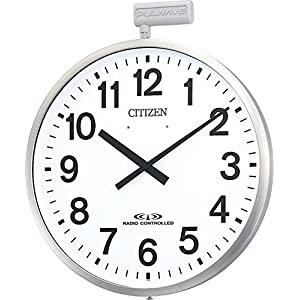 CITIZEN(リズム時計) 【屋外用】防雨型電波掛時計 ポールウエーブSF 4MY611-N19